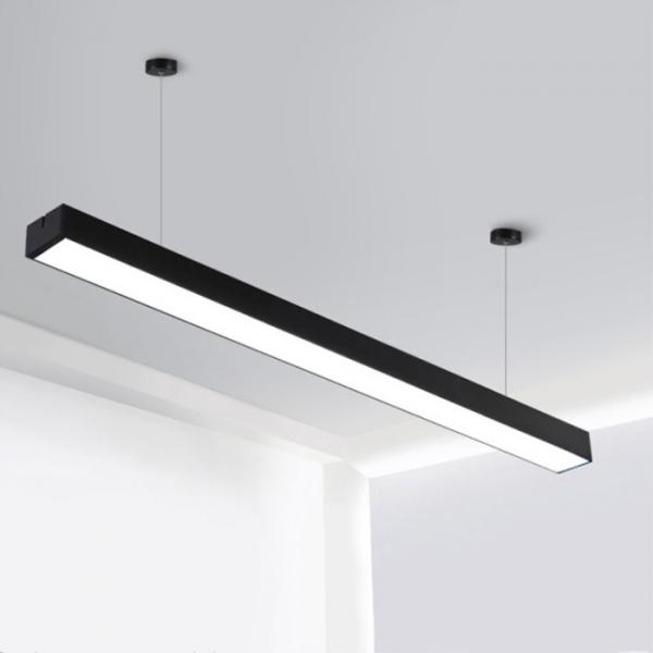 Lampa suspendata birou led negru [0]