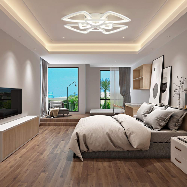 Lustra led Beyra Design SLC cu telecomanda [1]