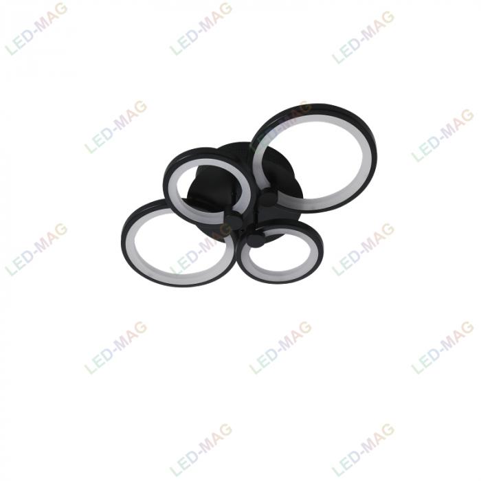 """Led Circle Black SLC 2+"""" [4]"""