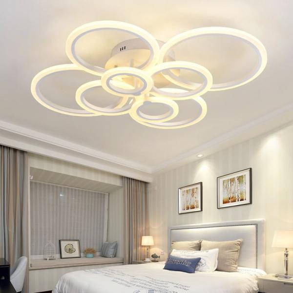 Lustra LED Circle Design 8 SLC0005 patrata cu telecomanda [0]