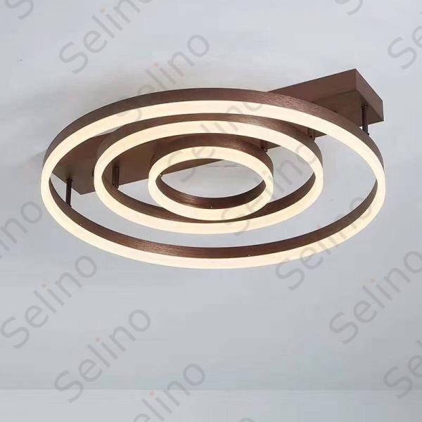 Lustra LED Circle Numva 3 cu Telecomanda [1]