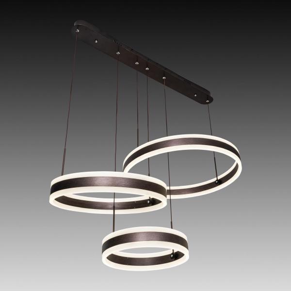 Lustra LED Circle Suspendata Numva 2-1 cu Telecomanda [0]