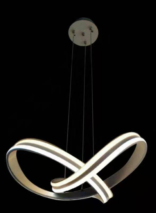 Lustra Led SLC Selino Concept Simphony Suspendata Alba cu Telecomanda, Lumina Calda/Rece si Neutra, Intensitate Reglabila , Flux Luminos 8800 Lumeni 172W [0]