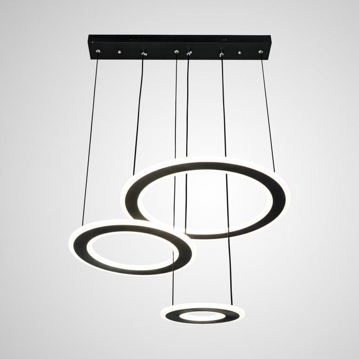 Lustra LED Circle Suspendata Numva 3 cu Telecomanda [0]