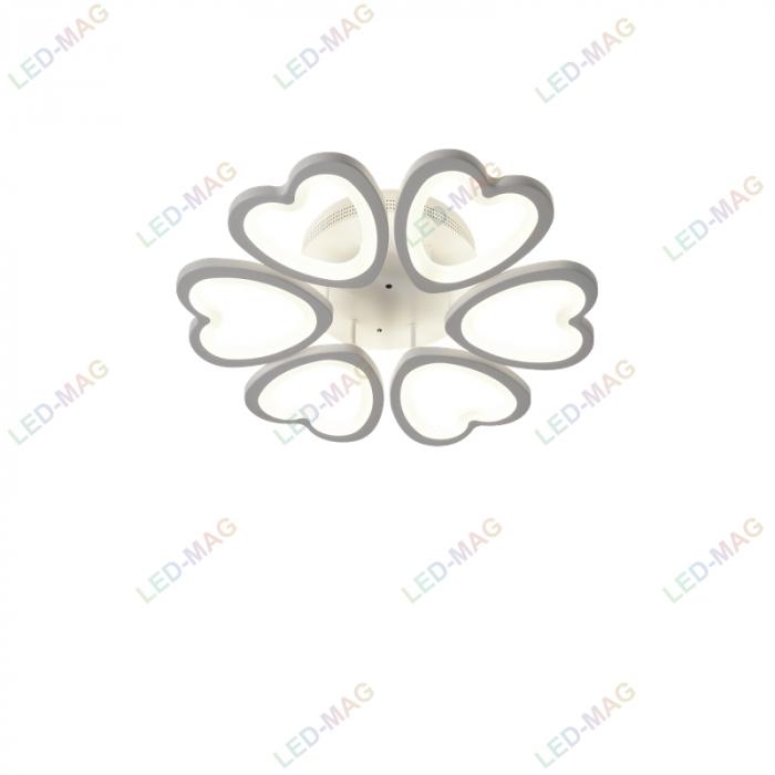 Lustra LED Heart cu telecomanda ieftina [2]