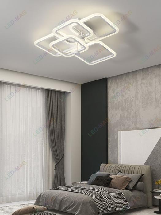 Lustra LED New Square 5 cu telecomanda ieftina [0]