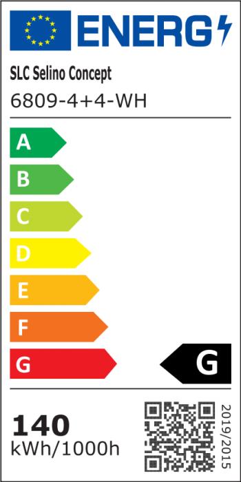 Lustra LED NEW Square Design, SLC, Patrata 8 cu Telecomanda [7]