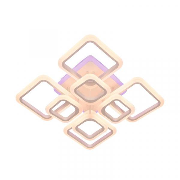 Lustra LED NEW Square Design, SLC, Patrata 8 cu Telecomanda [1]