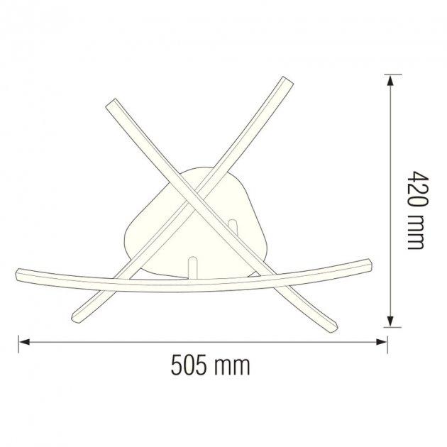 Lustra Led plafoniera CRATER SLC [1]