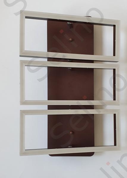 Lustra led SLC Monza Dreptunghiulara cu telecomanda, intensitate reglabila, lumina calda, neutra, rece [3]