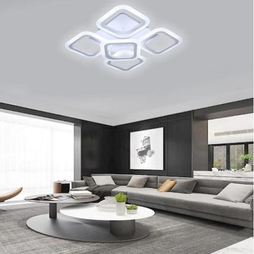 Lustra LED SLC Square Design Acril Exterior [0]