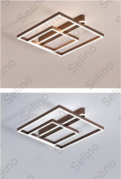 Lustra LED Square Numva 2+1 cu Telecomanda [2]