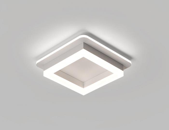 Plafoniera Patrata Led Ultra Slim Lumina Calda Neutra Rece 41W SLC [0]