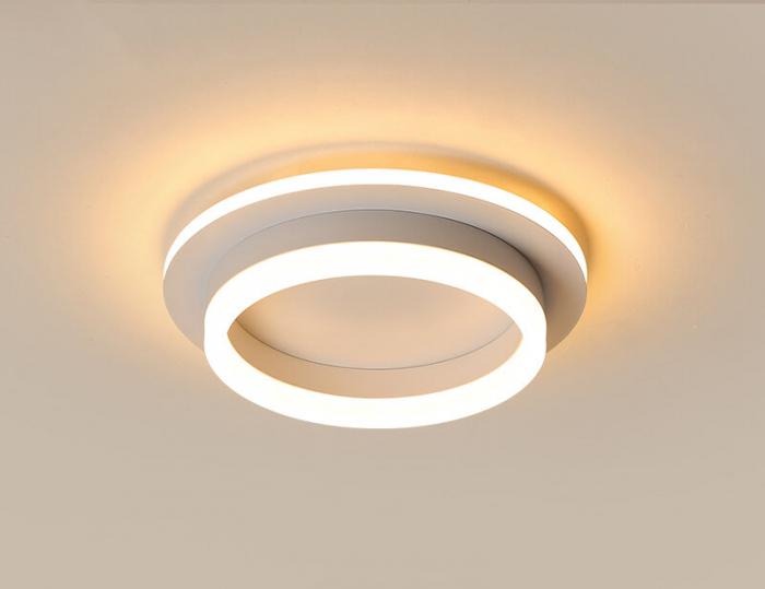 Plafoniera rotunda Led Ultra Slim Lumina Calda Neutra Rece 41W SLC [0]