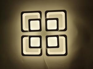 Lustra LED Square Design, SLC, Patrata 50 cu Telecomanda [4]