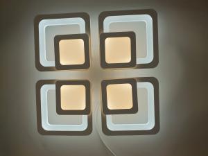 Lustra LED Square Design, SLC, Patrata 50 cu Telecomanda [3]