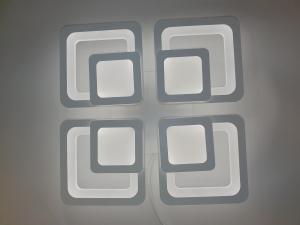 Lustra LED Square Design, SLC, Patrata 50 cu Telecomanda [5]