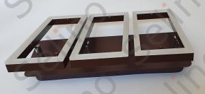Lustra led SLC Monza Dreptunghiulara cu telecomanda, intensitate reglabila, lumina calda, neutra, rece [4]