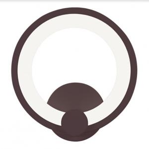 Aplica perete Led Circle Design Coffe