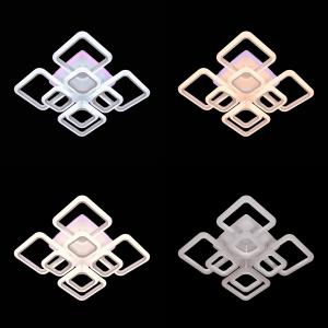 Lustra LED NEW Square Design, SLC, Patrata 8 cu Telecomanda [6]