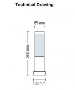 Lampa Gradina Kavak 3, Soclu E27, IP 44 [2]