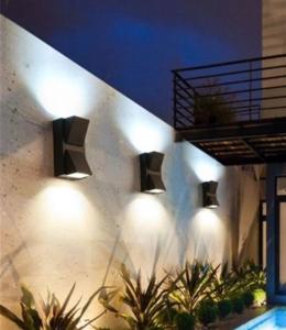 Aplica perete exterior 6 W simetrica [1]