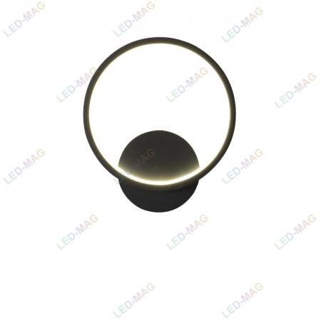 Aplica perete LED Circle Design Neagra [2]