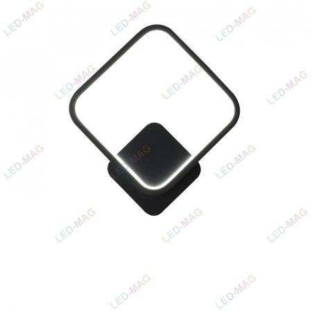 Aplica perete LED Square Design Neagra [1]