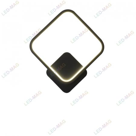 Aplica perete LED Square Design Neagra [3]