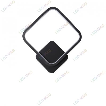 Aplica perete LED Square Design Neagra [4]