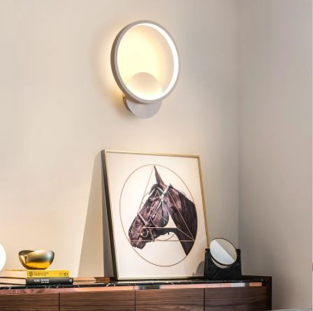 Aplica perete LED New Circle Design Alba [0]