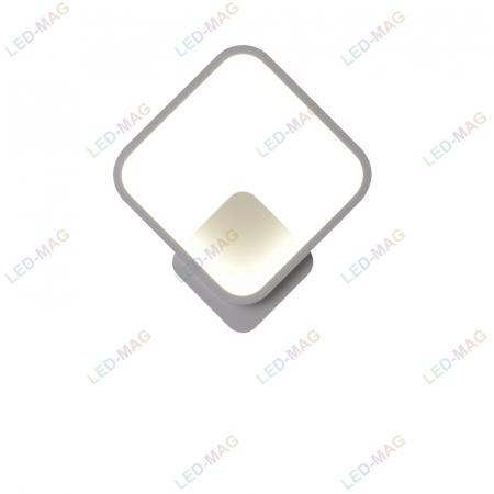 Aplica perete LED New Square Design Alba [6]