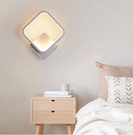 Aplica perete LED New Square Design Alba [2]
