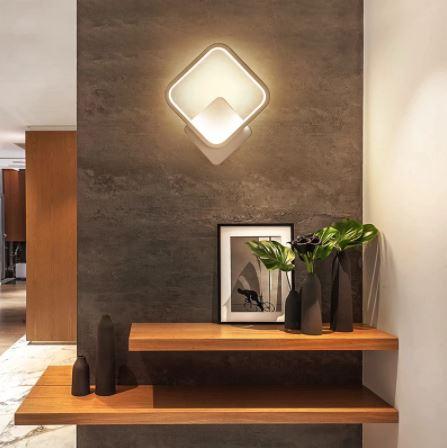 Aplica perete LED New Square Design Alba [1]