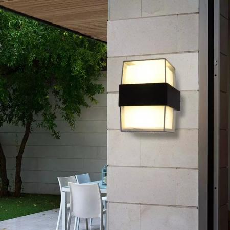 Aplica perete patrata exterior 12 W [1]