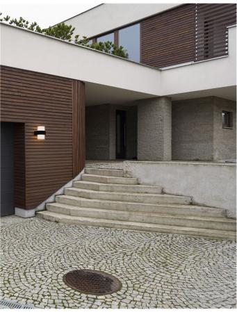 Aplica perete rotunda exterior 12 W