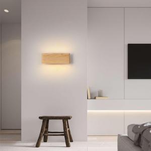 Aplica led perete lemn slim townhall 32 CM [1]