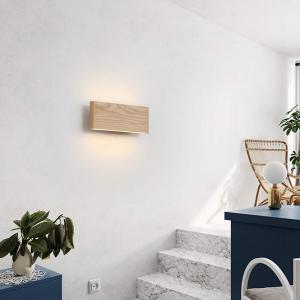 Aplica led perete lemn slim townhall [2]