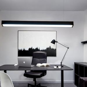 Lampa suspendata birou led negru [2]