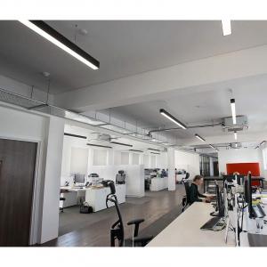 Lampa suspendata birou led negru [5]