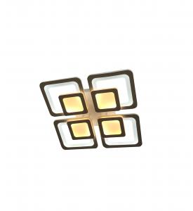 Lustra LED Square Design, SLC, Patrata 50 black cu Telecomanda - [0]