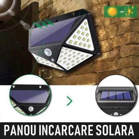 Lampa solara 3w 100 led-uri [3]