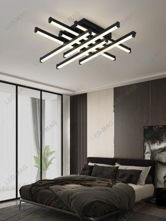 Lustra LED Aria black SLC [0]