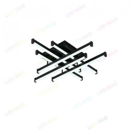 Lustra LED Aria 6 Mini black SLC [3]