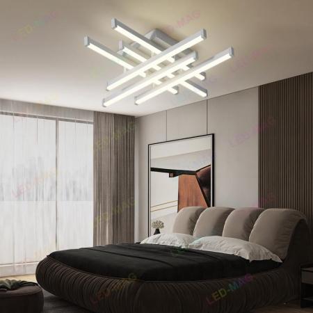 Lustra LED Aria 6 Mini White