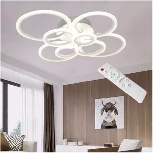 Lustra LED Circle Design 8 SLC0005 patrata cu telecomanda [3]