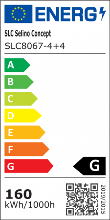 Lustra LED Circle Design 8 Cercuri cu telecomanda [5]
