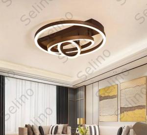 Lustra LED Circle Numva 3 cu Telecomanda [0]