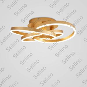 Lustra LED Circle Numva 2+1 cu Telecomanda [2]