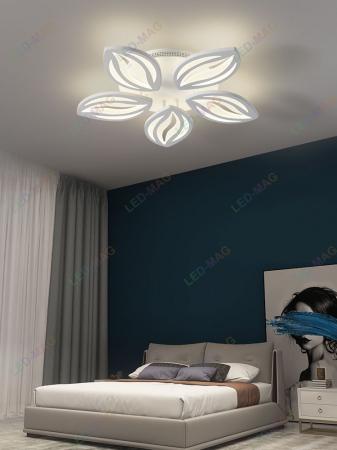 Lustra Led Leaf Design SLC cu Telecomanda